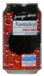 Pingo doce Fantastico! Cola zero