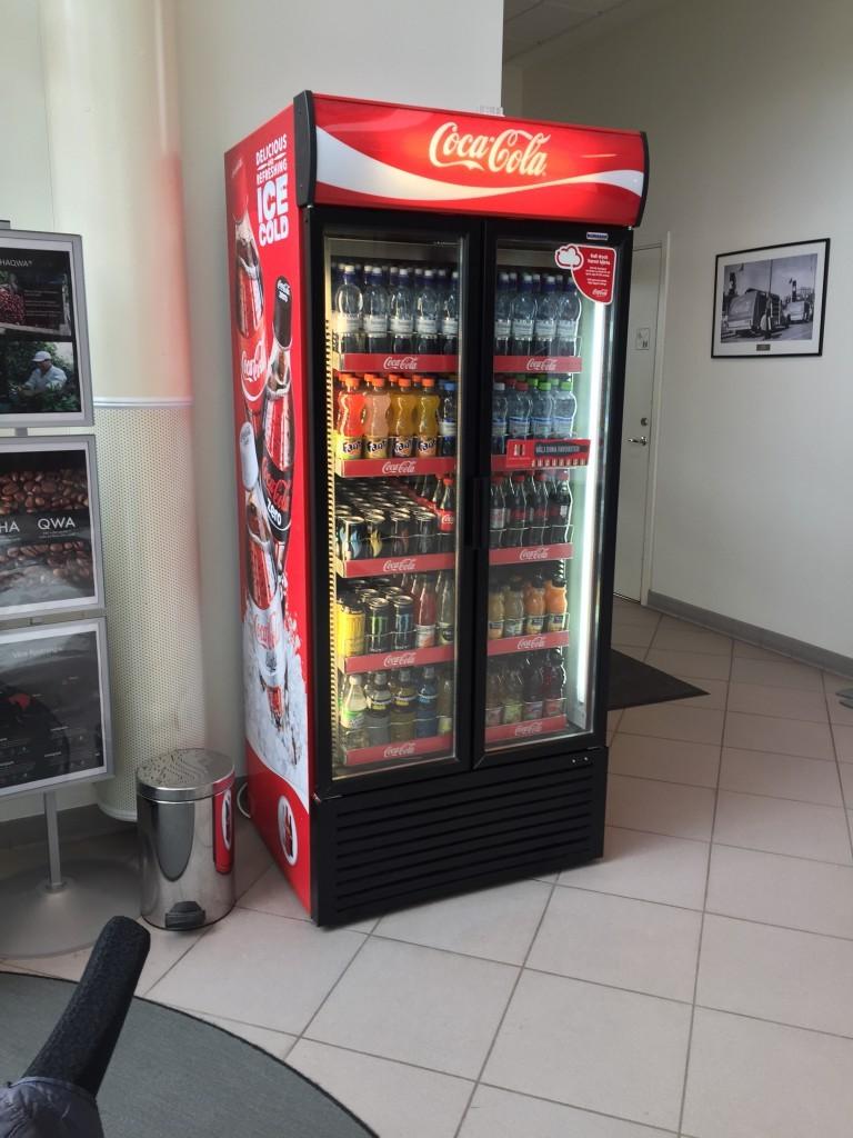 Coca-cola hos Coca-cola