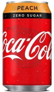 Coca-cola zero peach